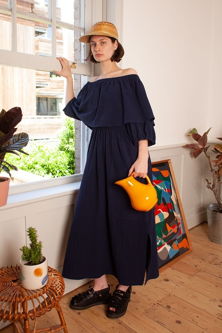 L.F.Markey Niles Dress - Navy