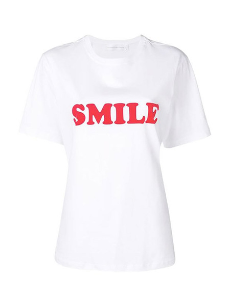 Victoria Beckham SMILE T - WHITE
