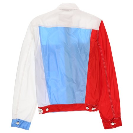 Marni Jacket - Red/Light Blue/White
