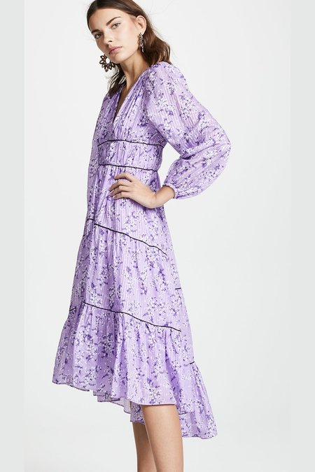 The Narwhal Joan Dress - Lilac
