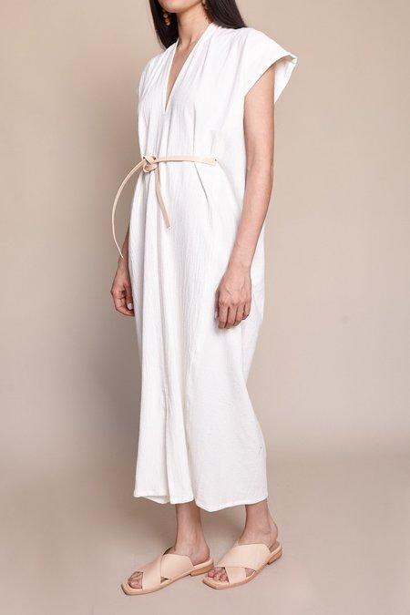 Miranda Bennett Knot Dress - White