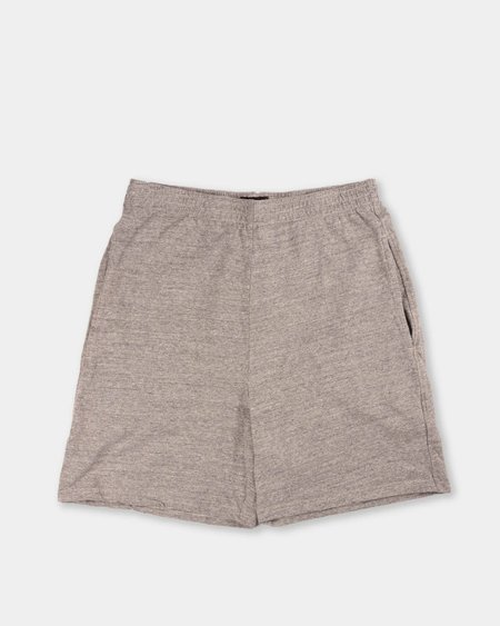National Athletic Goods Track Short - Mid Grey