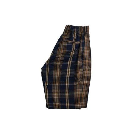 Kid's unisex Arch & Line Madras Short