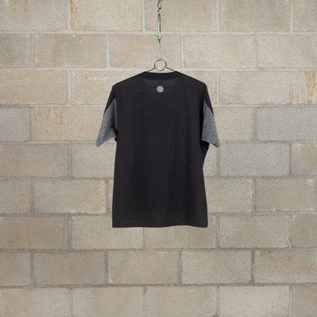 Alk Phenix Orbit Reflector Heather Cool Dots T-Shirt - Black