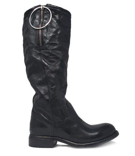 Lemargo Leather Mid Boot - Black