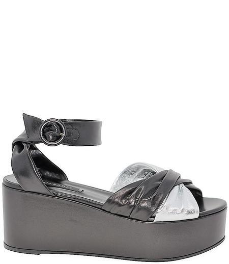 Casadei Wedge Sandal - Argento