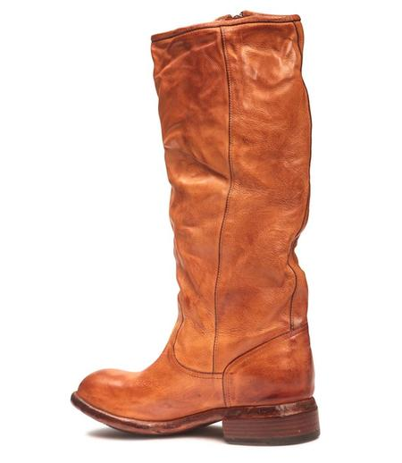 Lemargo Leather Mid Boot - Cognac
