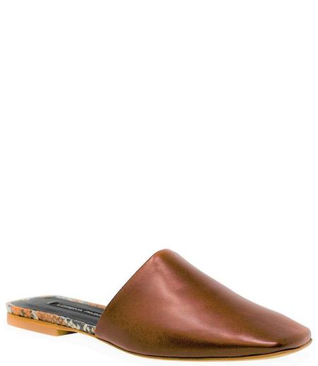 Lorena Paggi Flat Slip On Sandal - Cuoio