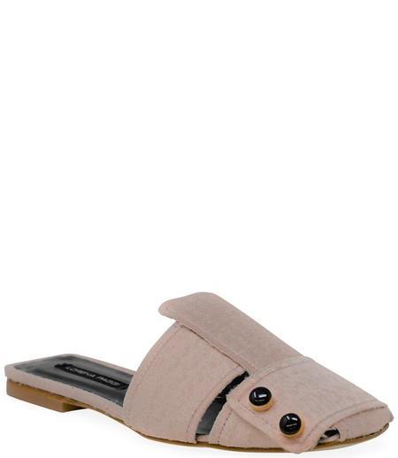 Lorena Paggi Flat Slip On Sandal - Rosa