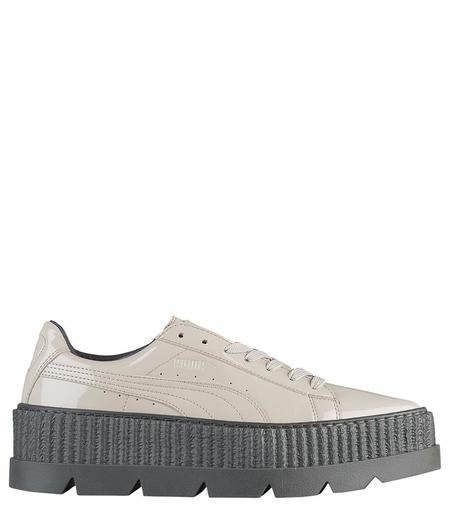 Puma x rihanna Men's Dove Pointy Creeper Patent shoes - Dove