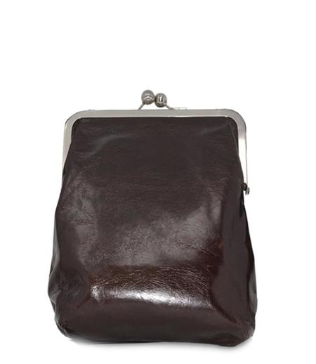 Volker Lang Leather Small Lola Clip Bag - Ebony