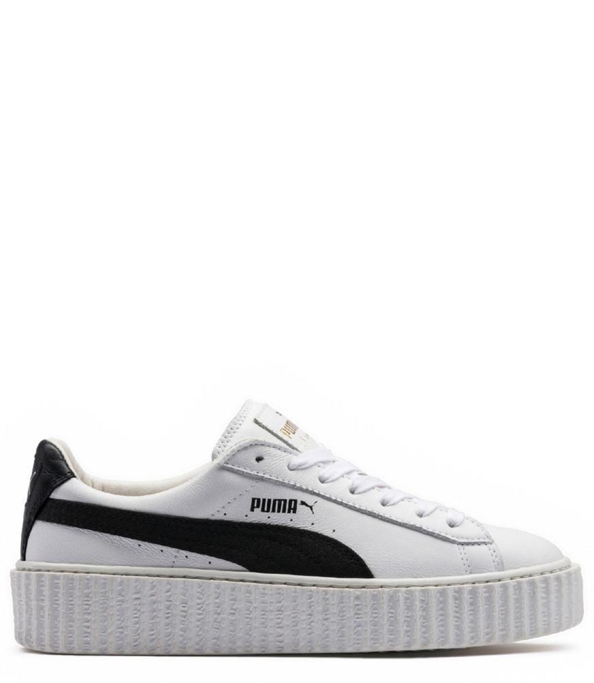 the latest 8c66f 20f93 Rihanna x Puma Leather Creepers - White