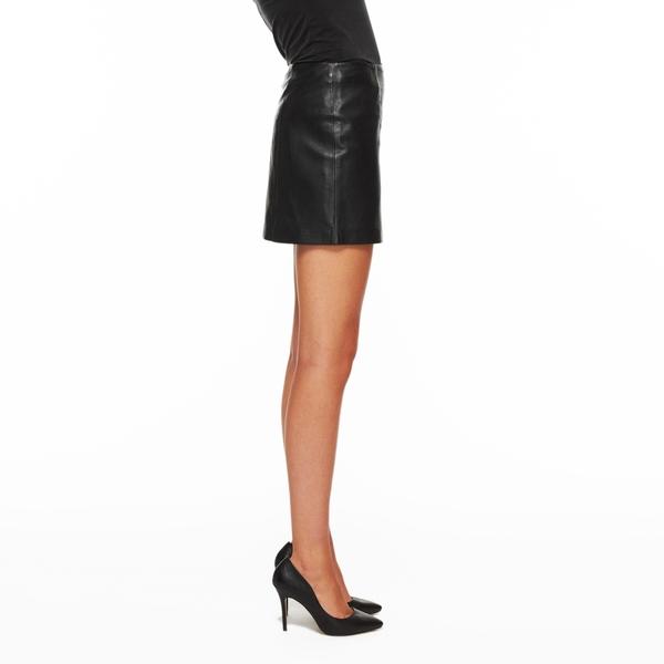LAMARQUE Leather Mini Skirt