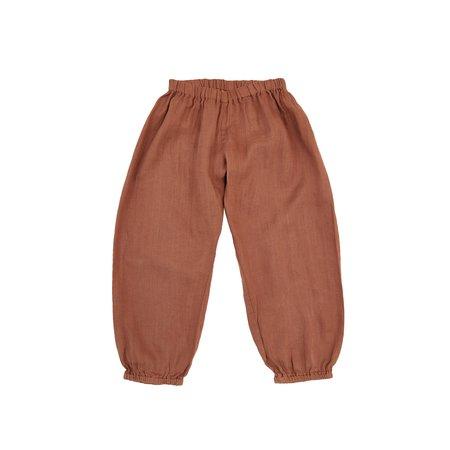 KIDS Nobonu India Pant - Terracotta