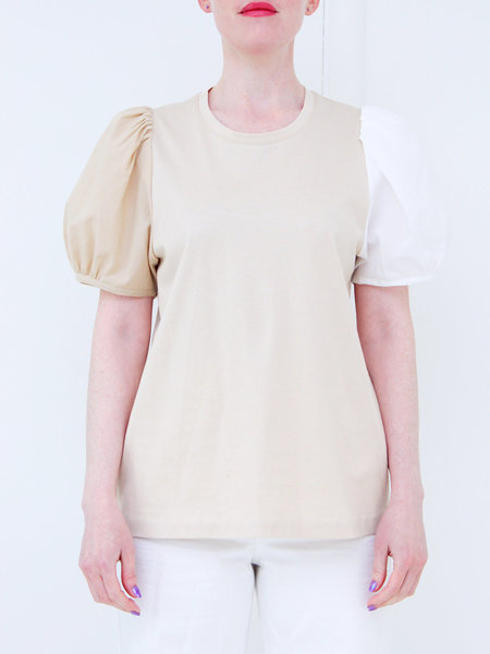Correll Correll Bonne Shirt - Natural/White