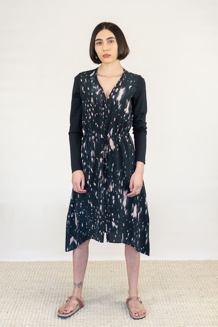 GOSILK Go Any Which Way Duster Dress - Meteor Shower