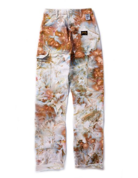 UNISEX Riverside Tool & Dye Painter's Pants - Ivory