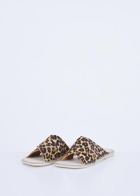 Flamingos Betty Slide Sandal - Leopard