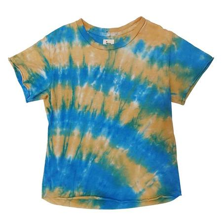 KIDS Nico Nico Milos Tie Dye Short Sleeved T-shirt - Horizon Blue