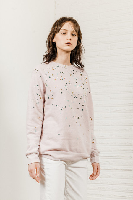Kate Towers dottie sweatshirt - PINK