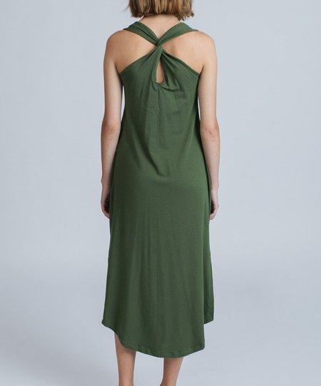 Pillar Tulum Sundress - green