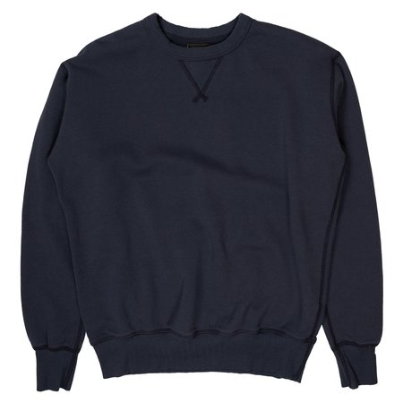 National Athletic Goods Single V Warm Up - Navy Fade