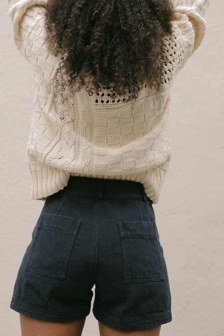 80caab90d2412 ... KORDAL INNOVATIVE GIA CABLE KNIT SWEATER - CREAM