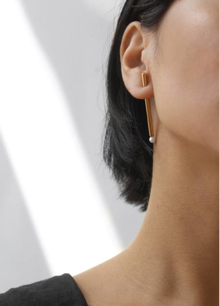 Jenny Bird Akoya Sticks Earrings - Gold