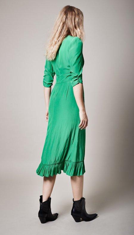 Smythe Midi Tea Dress - Grass