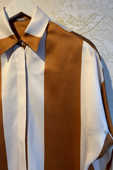Dodo Bar Or Noy Silk Shirt - Stripe