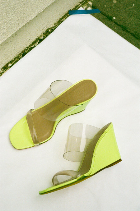 Maryam Nassir Zadeh Olympia Wedge - Sun Florescent