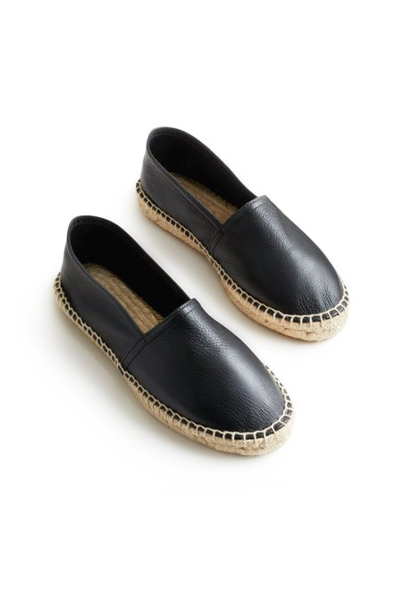 Lisa B. Espadrille Leather Classic - Black