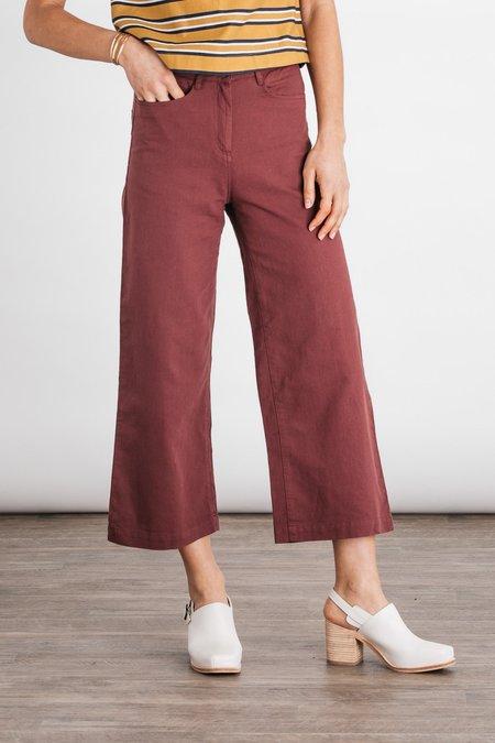 Bridge & Burn Easton Pants - Washed Red