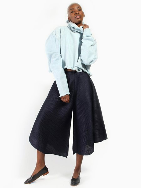 Issey Miyake Skirt Pant - Navy
