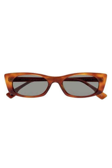 Le Specs Deep Shade Sunglasses - Honey Tort