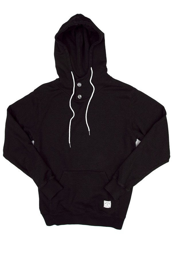 Men's Iron & Resin Todos Santos Pullover Black