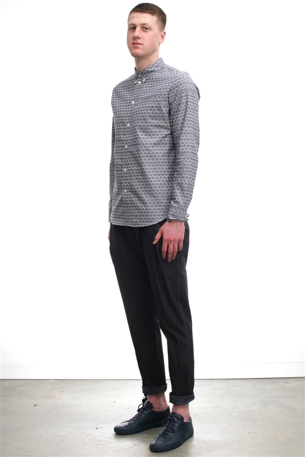 Men's Silent by Damir Doma Pull Pleated Trousers