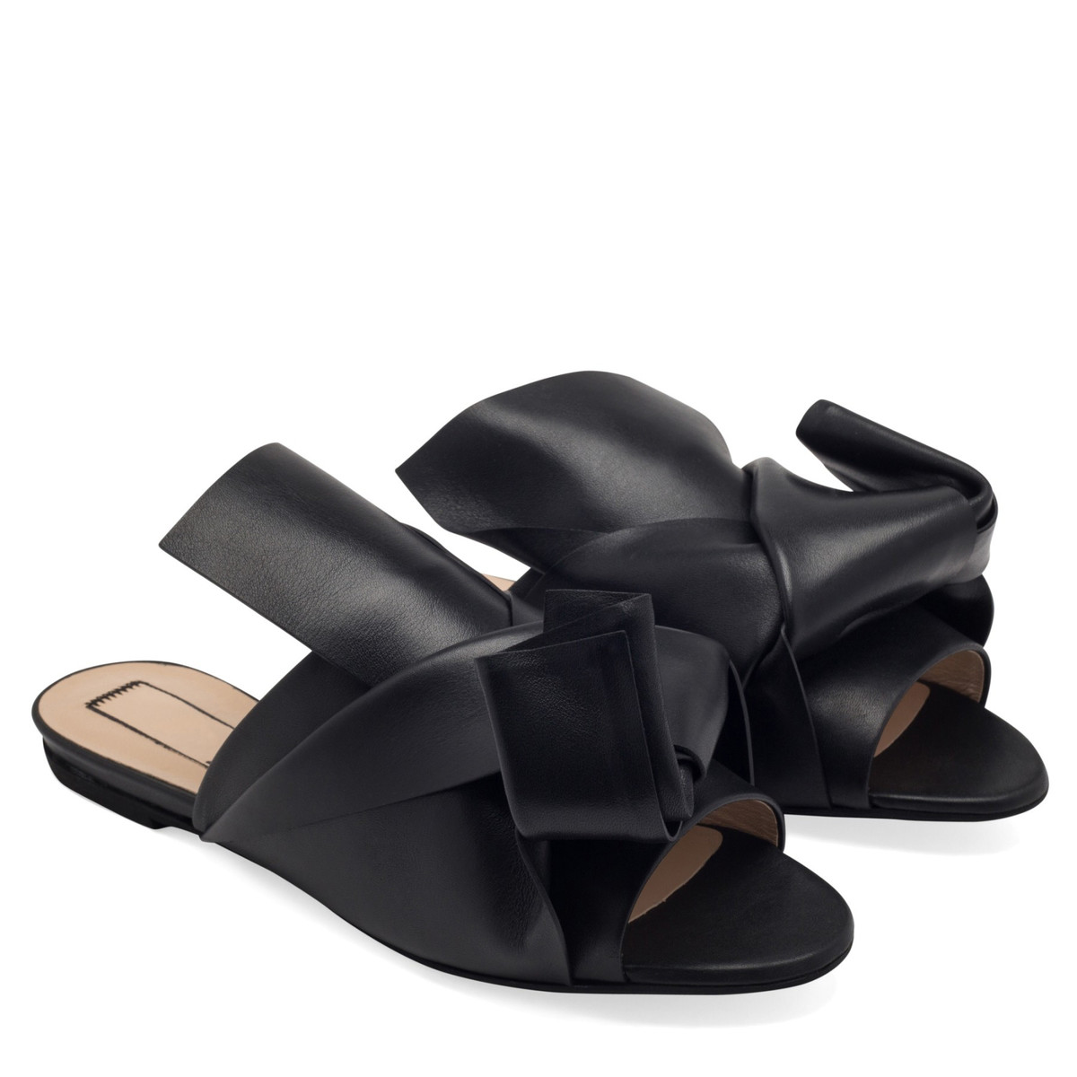 No21 Leather Sandals