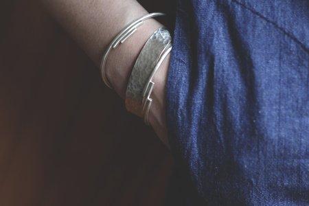 Rebecca Mir Grady Monte Albán Cuff - Silver