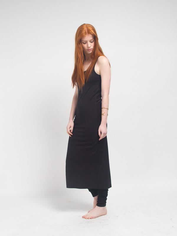 Skin Black Tank Dress