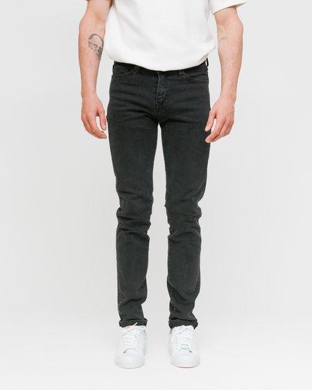 Unisex Dr. Denim Snap Jeans - Old Black