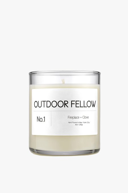 Outdoor Fellow NO.1 Fireplace+Clove Candle