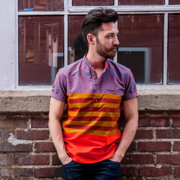 Men's New Market Goods Mirpur Popover Shirt