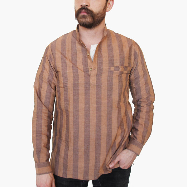 Tama Long-sleeve Popover Shirt
