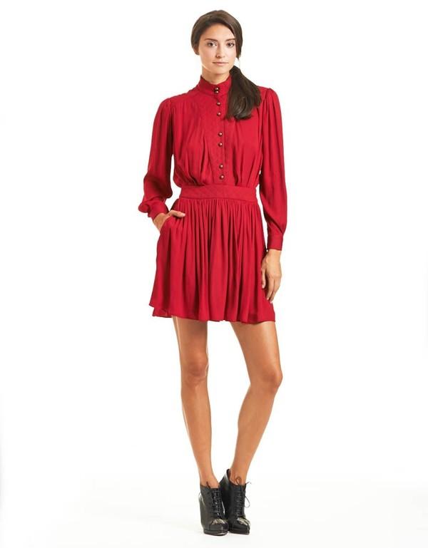 Morgan Carper Kali Short Quilted Dress