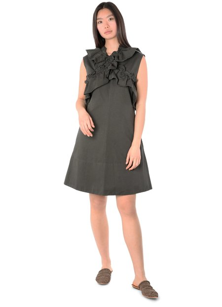 Marni Dress - Glass Green