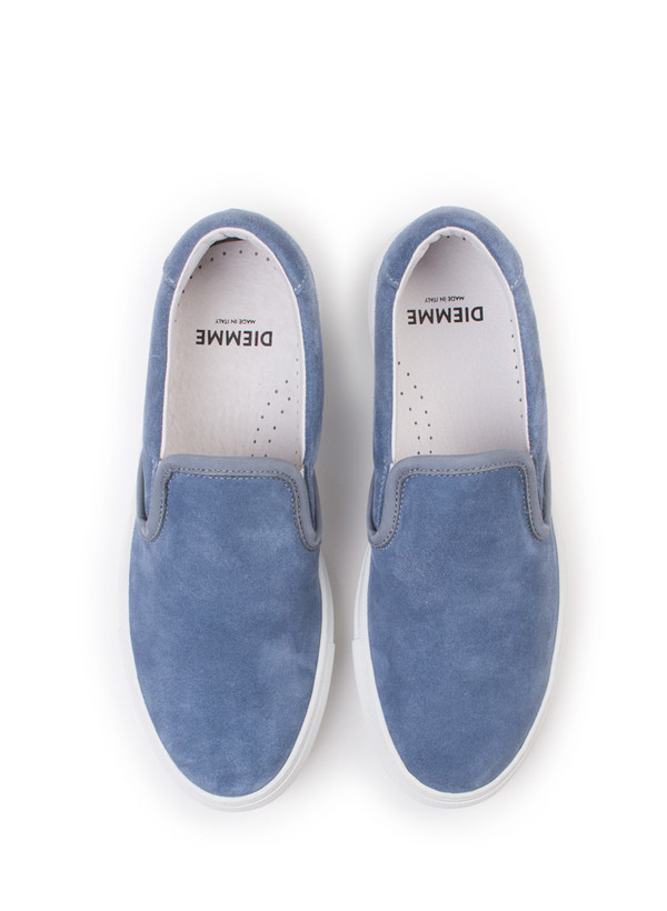Men's Diemme Garda Blue Suede