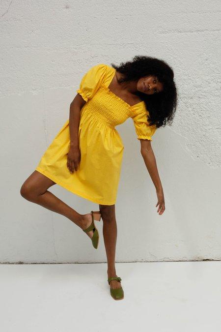 Lisa Says Gah Toni Dress - Yellow