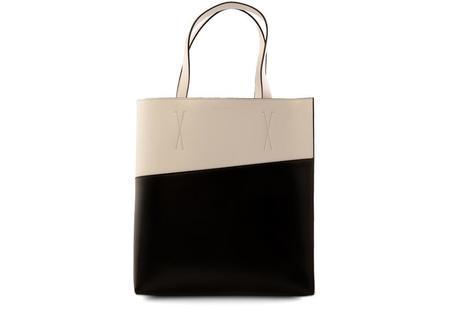 Marni Shopping Bag - Limestone/Black