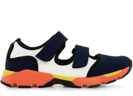 Marni Mary Jane SNEAKER - Eclipse/White